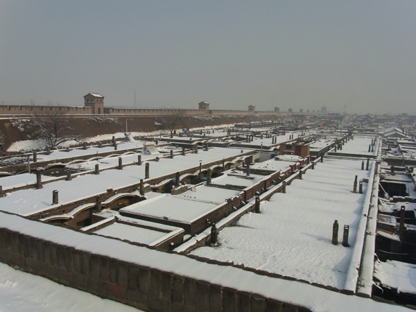 pingyao snow scenery