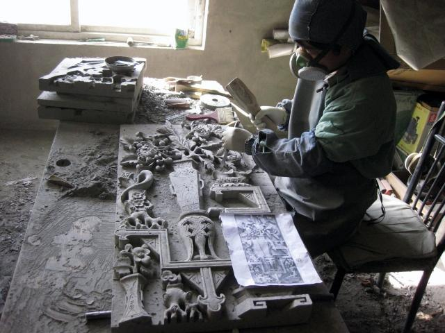 China carving art