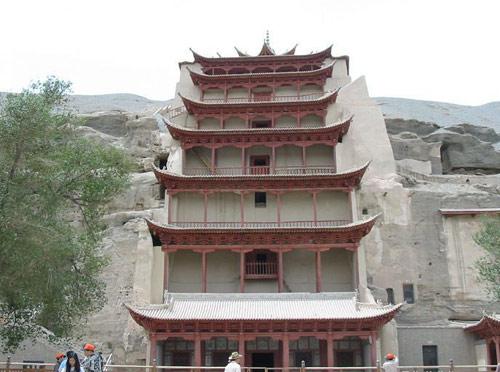 Dunhuang Mogao Grottoes, Gansu