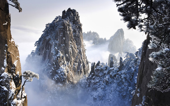 Yellow Mountain, China Winter Tours