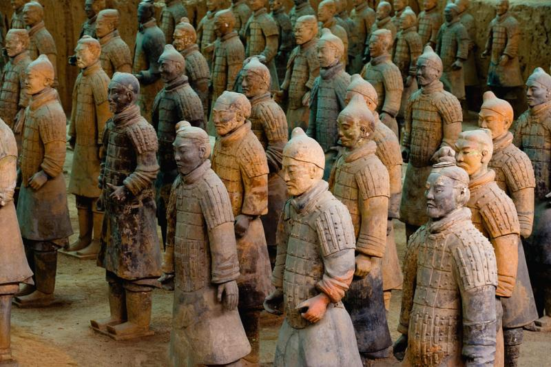 China Xian Terra-cotta worriors tour