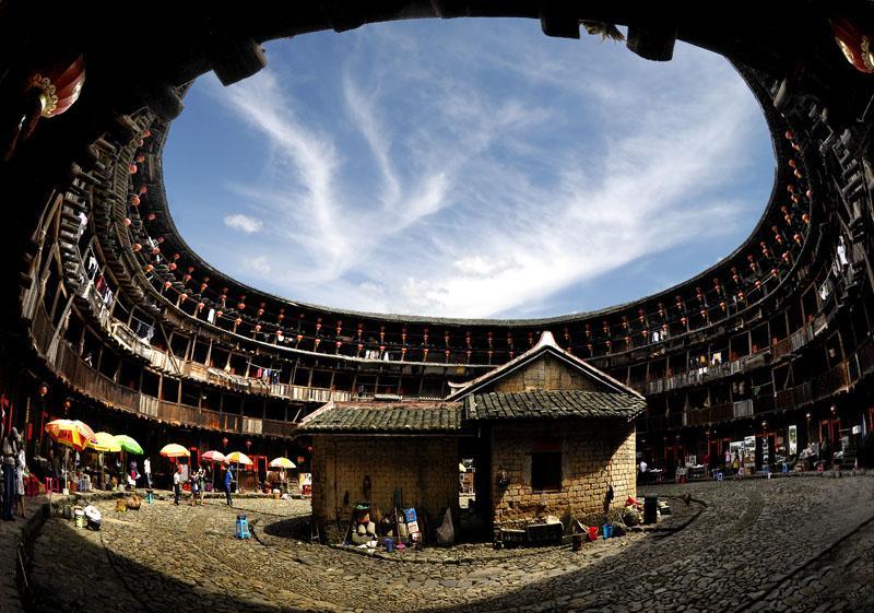Fujian tulou vacation