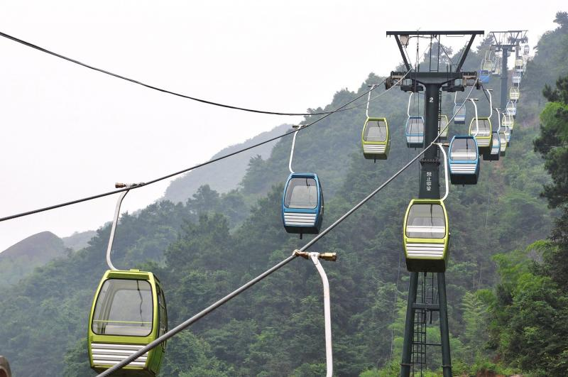 Bajiao Zhai Cable Car