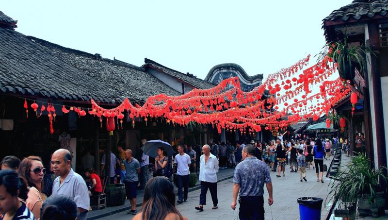 Chengdu ancient town trips