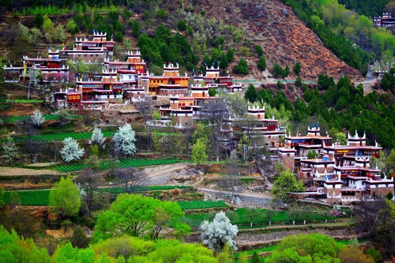 Danba Jiaju Tibetan Villages