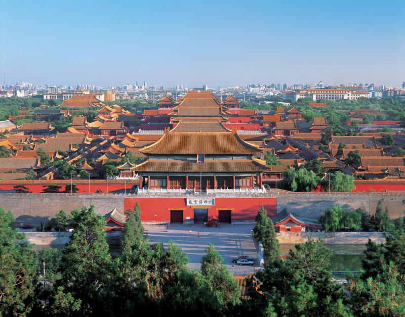 Palace Museum panorama view