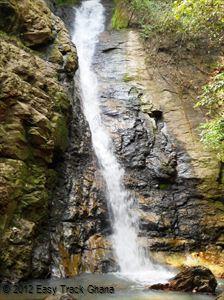 Tsenku Falls in Ghana