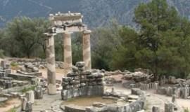 Delfos Grecia Tholos Athina Pronea
