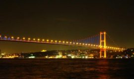 Istanbul Turkey Sultan Mehmet Bridge