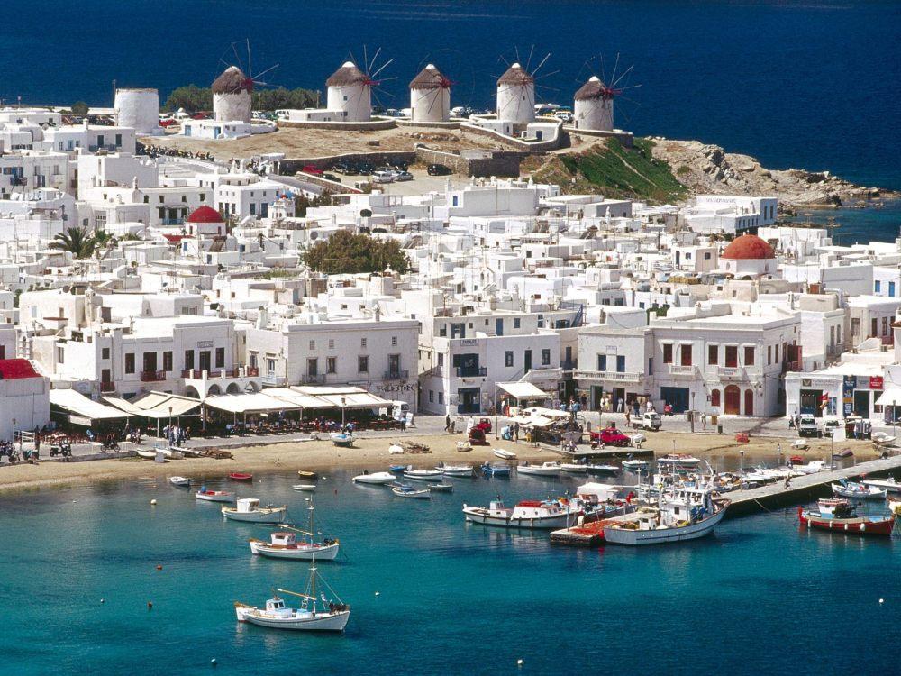 Mykonos Myconos Island Greece