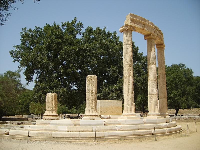 Olympia_Greece_Philipion_Tholos