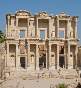 Ephesus_Turkey_Celsus_Library Capadocia Grecia clásica paquete