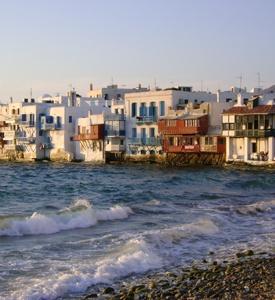 Isla de Mykonos Myconos Grecia pequeña Venecia Costa del Egeo Turquía