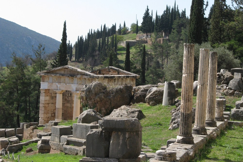 Sitio arqueológico de Delphi Grecia Clásica Grecia Estambul paquete