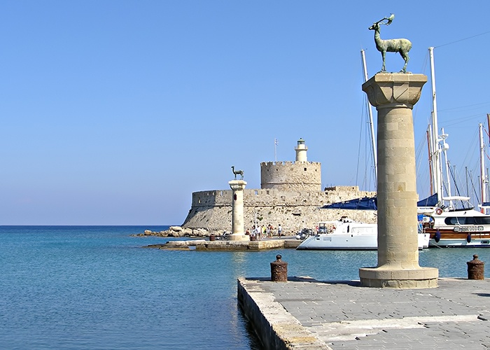 Rhodes_Greece_Harbour_Entrance