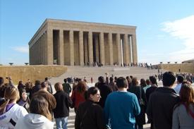 Ankara Turquía mausoleo de Kemal Ataturk Turquía Grecia Estambul Atenas