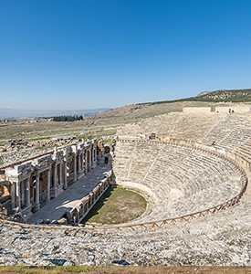 Hierapolis Turkey the Theater