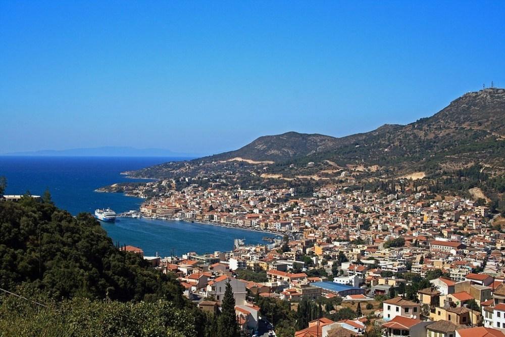 Samos_Island_Greece_Vathy_Town Turquía Samos Santorini Mykonos