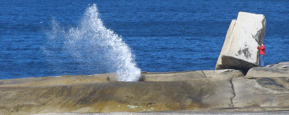 The Blowhole - Bicheno - East Coast Tasmania