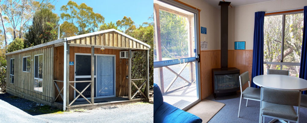 Cosy Self Contained Cabin at Discovery Holiday Park Cradle Mountain