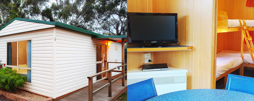 Standard Family Cabin Accommodation at the Discovery Holiday Park Hobart