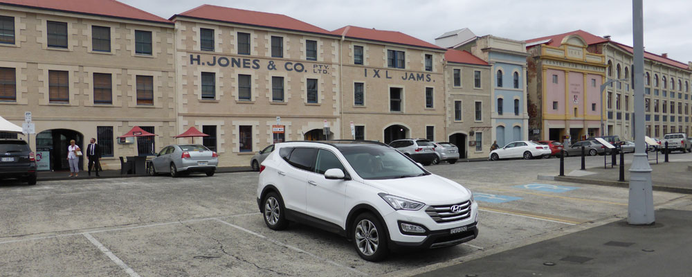 Easy Parking at Hobart's Waterfront District