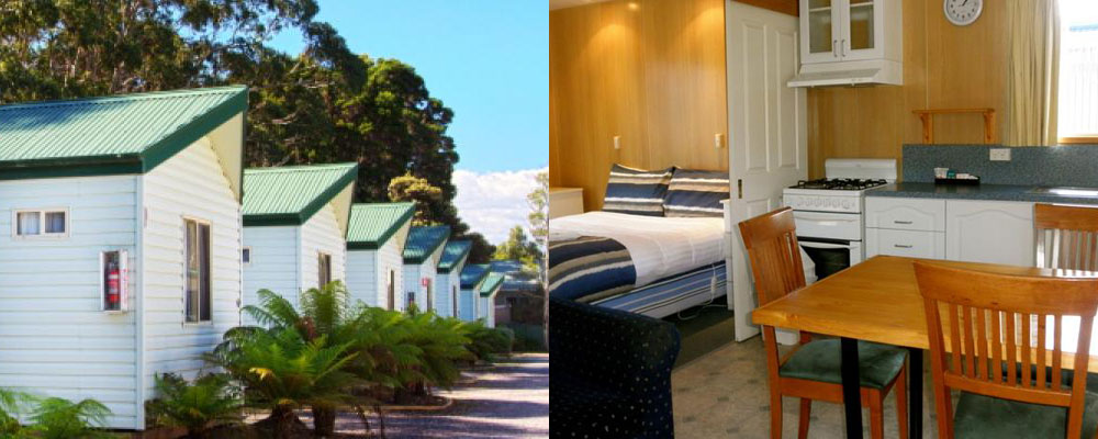 Strahan Beach Tourist Park - Self Contained Cabin Accommodation