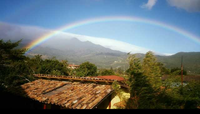 Boquete relocation tour - Rainbow on the hills