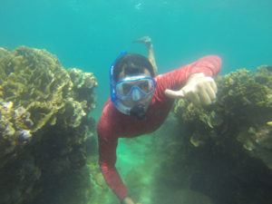 Snorkeling in the Caribbean at Portobelo