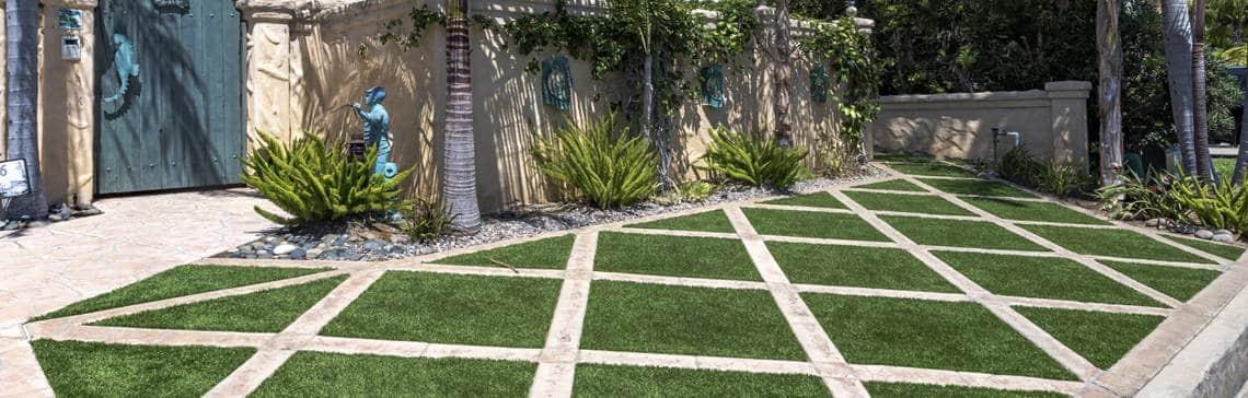 Artificial Grass Landscape Design | Artificial Turf Designs on Turf Yard Ideas id=83188