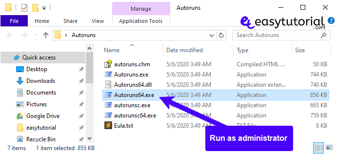 Clean Remove Entries Task Manager Startup Tab 2