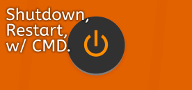 How to Shutdown/Restart Your PC Automatically Using CMD