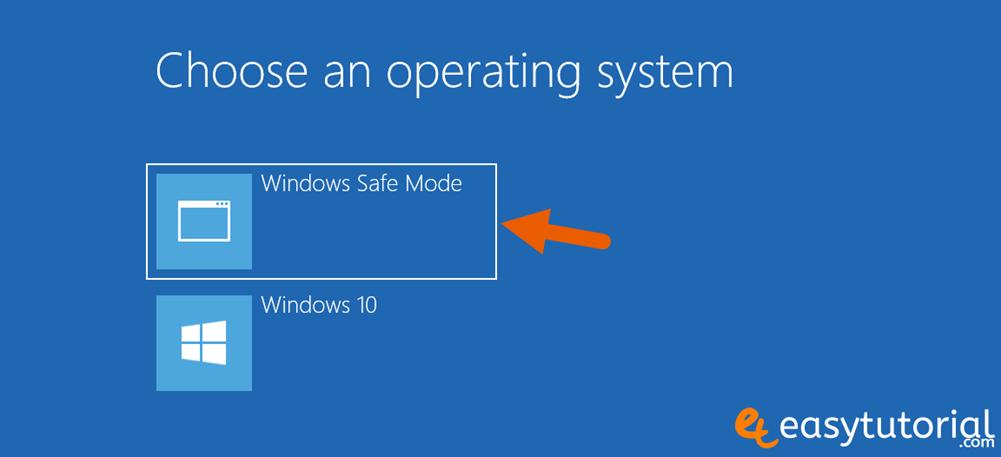 Bcdedit Add Safe Mode Boot Windows 10 Boot Menu Startup Msconfig 10 Default Os