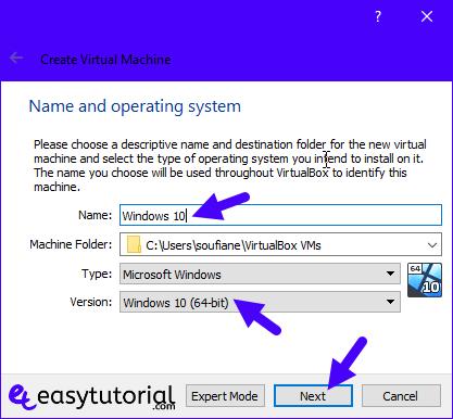Virtualbox Create Virtual Machine Windows 10 Uefi 2