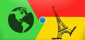 Moteur de recherche Chrome : changer google.com en google.fr !