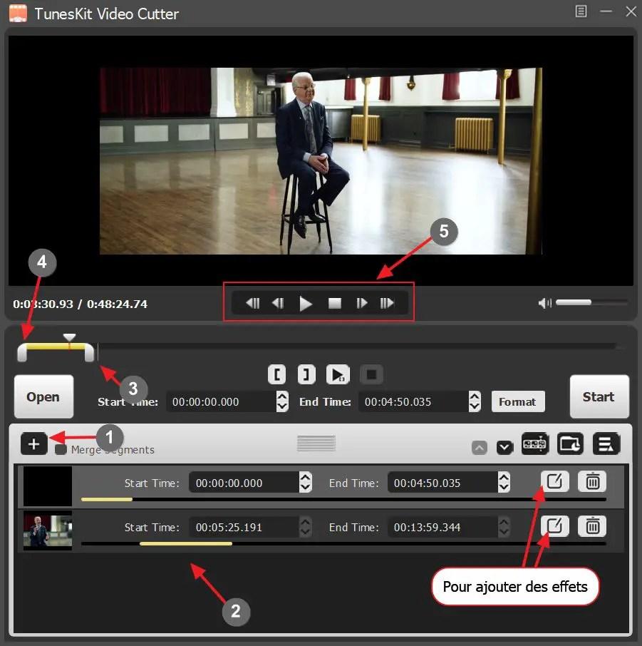 Tuneskit Video Cutter 5
