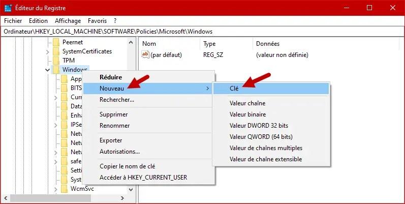 Desactiver Cortana Windows 10 8