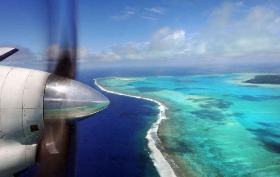 Rarotonga : Playa en Rarotonga - Islas Cook