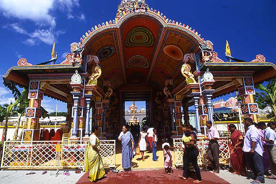 The Tamil temples