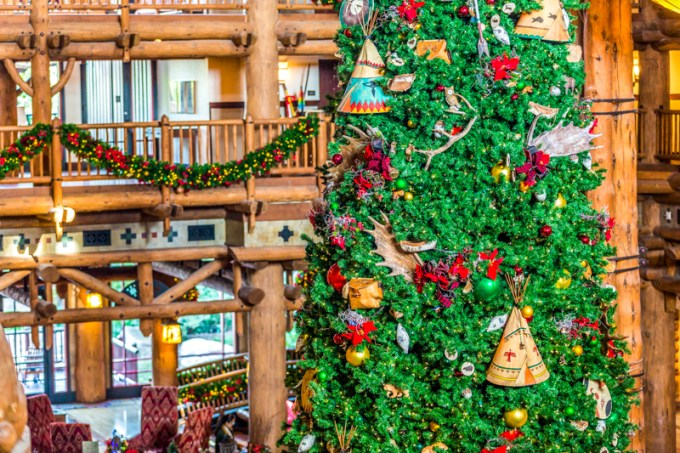 merry christmas from disney s wilderness lodge easywdw