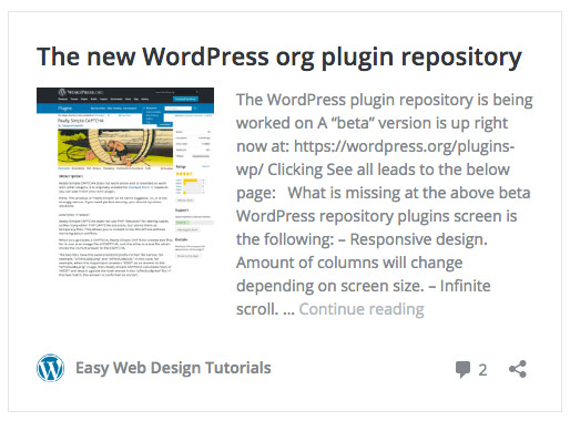 Adjusting the auto embed of WordPress site links