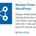 Related Posts plugin