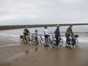 Wheels in the Water - Roker Beach