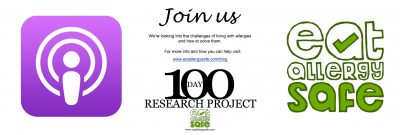 Never Be Alone on Your Allergy Journey Again! 100 Day Research Project Update 22/100
