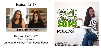 EAS 018: Can You Cure IBS? Find out from Janet and Hannah from Fodify Foods