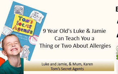 EAS 027: 9 Year Old's Luke & Jamie Can Teach You a Thing or Two About Allergies