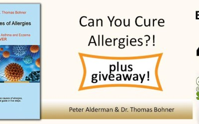 EAS 041: The Real Causes of Allergies, Eczema and Asthma with Peter Alderman and Dr Thomas Bohner [plus GIVEAWAY]