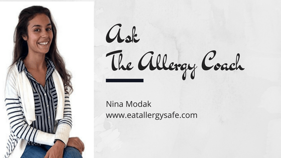 Ask The Allergy Coach Q11: What sauce can I make/buy that is free from egg, dairy, gluten and sugar?