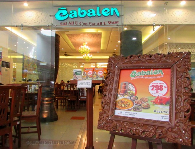 Eat All You Can In SM North - Cabalen