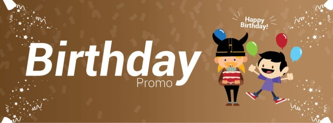 Eat All You Can Birthday Promo - Vikings